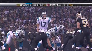 2009 Week 9 - Panthers @ Saints