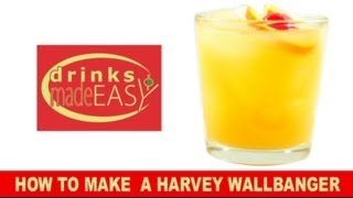 How To Make A Harvey Wallbanger-drinks Made Easy