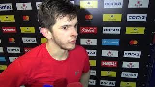 Константин Окулов: Тяжело - с января не играл, две недели вообще ничего не делал
