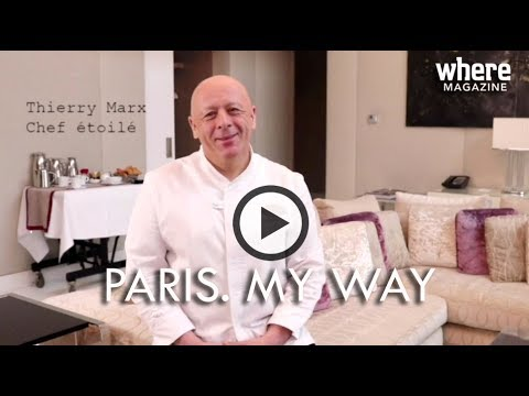 (FR) PARIS. MY WAY by where - Thierry Marx