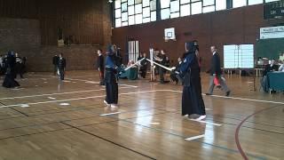 Kendo Championnat de France 2011 Dauverne - Roure