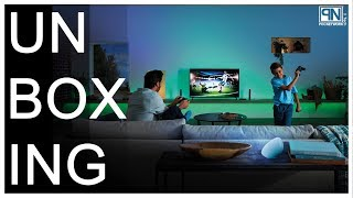 Philips Hue Play HDMI Sync Box - Unboxing & Demo - Poc Network