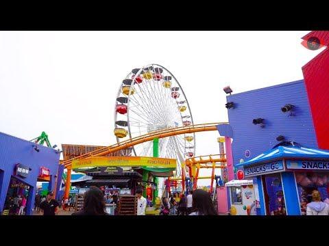 Visit Santa Monica Pier 2018 - Beach, Rides, Games, Tourism - Things to do in LA