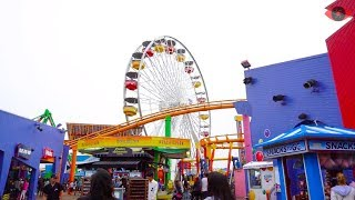 Visit Santa Monica Pier 2018 - Beach, Rides, Games, Tourism - Things to do in LA