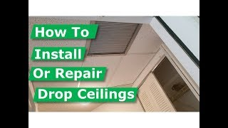 How to Install Suspended Ceilings (Drop Ceiling) Avoid Errors