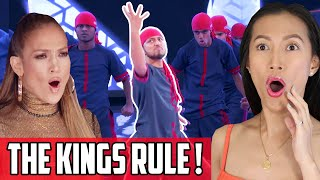 The Kings On World Of Dance Reaction | First Time Reacting To This High Flying Dance Crew!