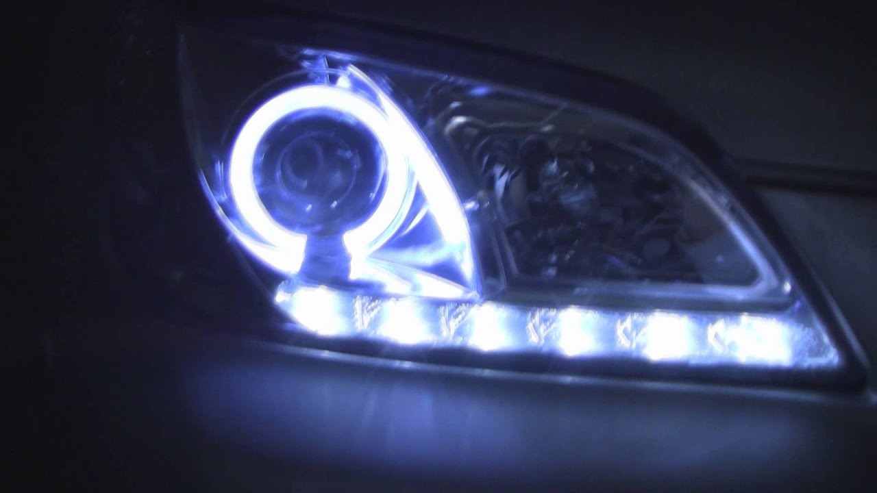 Bad Led Headlights Spyder Sonar Headlight For Lexus Is300 Review - Youtube