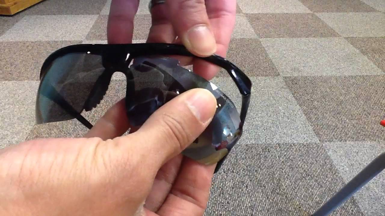 857dc593fec Changing lenses on Nike Tailwind 12 sunglasses - YouTube