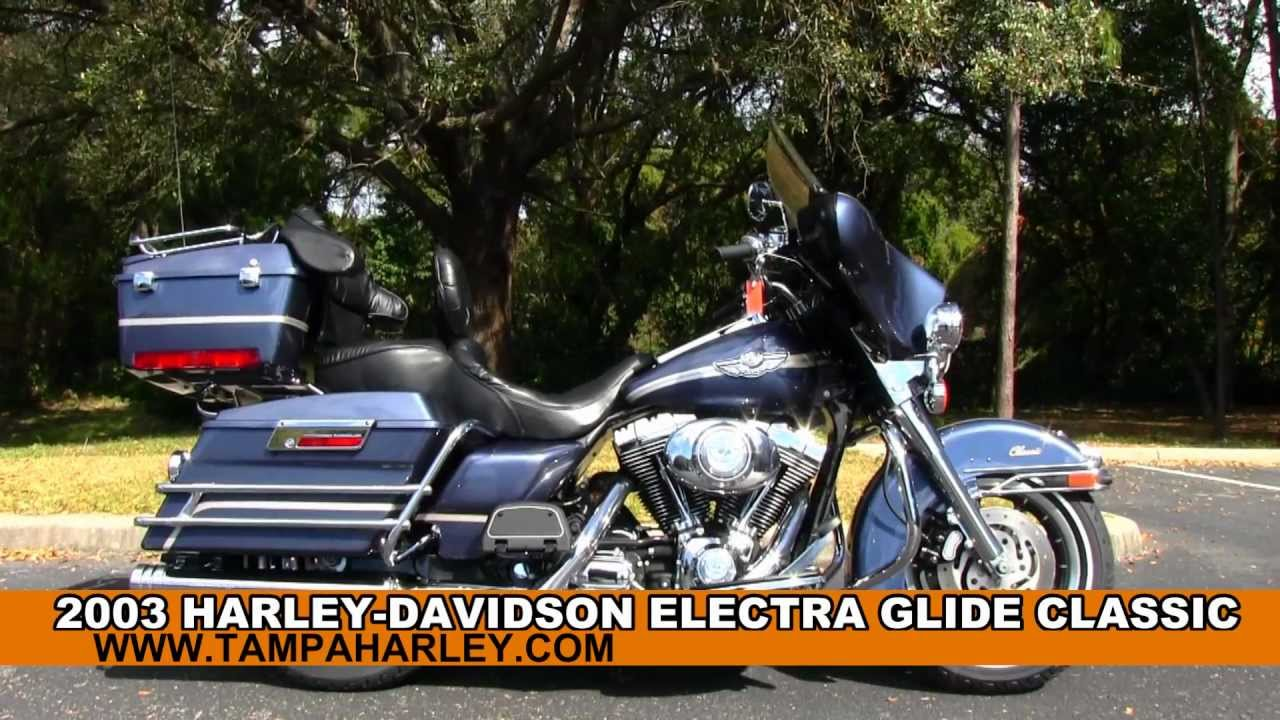 used 2003 harley-davidson flhtc electra glide classic 100th