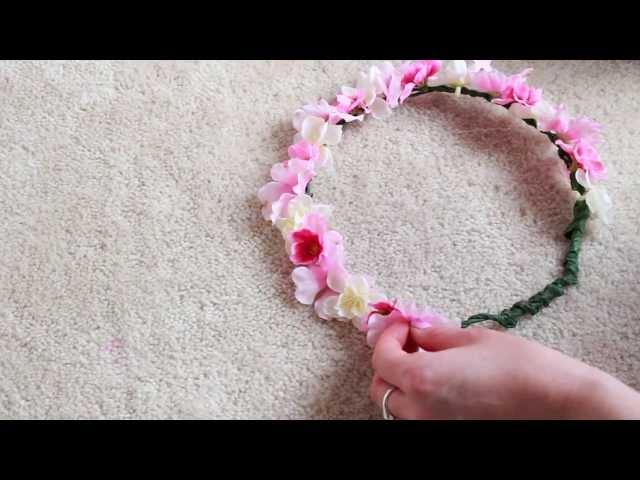 Cara Membuat Flower Crown Sendiri Dari Bahan Sederhana