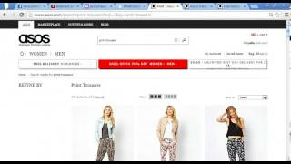 ASOS - Search function