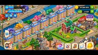 ТАУНШИП город и ферма #515  Знакомство с моим городом  Игровое видео