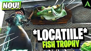 Fish Trophy *TOATE LOCATIILE* in Fortnite..