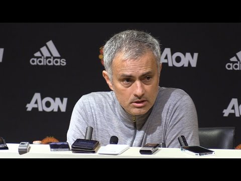 "Jose Mourinho Pre-Match Press Conference - Manchester United v Everton ""Luke Shaw A Long Way Behind"""
