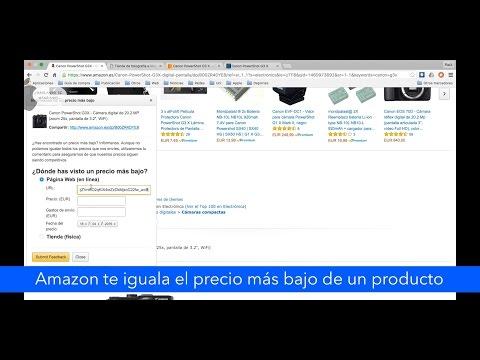 Amazon te iguala el precio más bajo de un producto