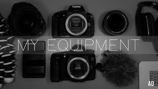 My Camera Equipment: What I Use To Vlog & Film