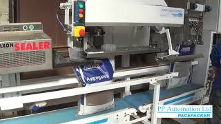 Pacepacker Aggregate Weigher & Manual Bagging System