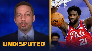 Chris Broussard breaks down why Joel Embiid is clearly the MVP frontrunner | NBA | UNDISPUTED