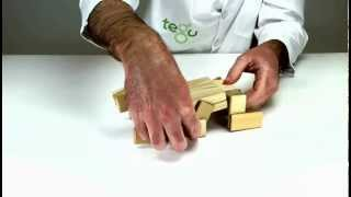 Building A Beetle Out Of European-esque Wooden Toys From Tegu