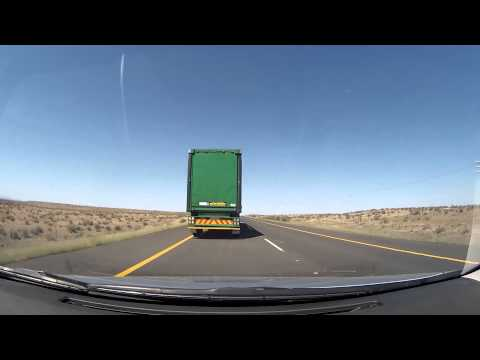 Speed Cameras On The N1 Near Beaufort West