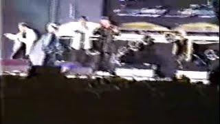 Trey D + Backstreet Boys perform live