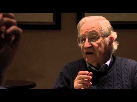Noam Chomsky answers questions from 6 personalities