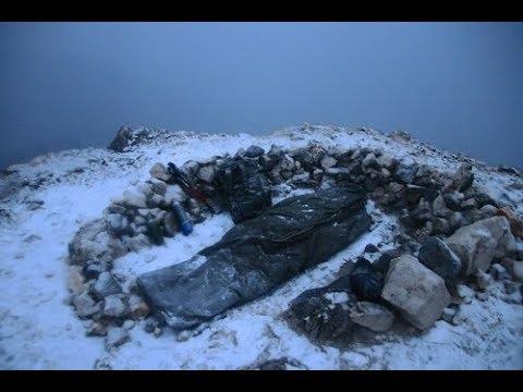 Gipfelbiwak am Guffert und Wetter-test meines BW Carinthia Biwaksacks