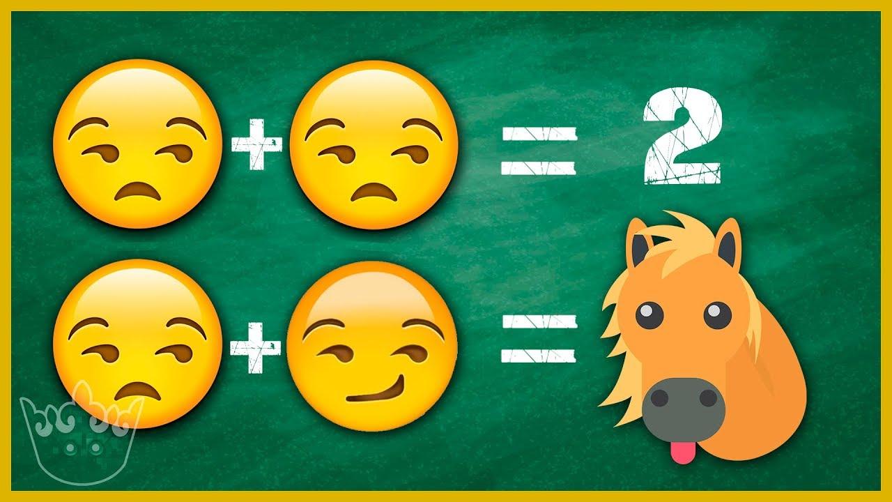 Si Sabes la respuesta del Emoji eres un GENIO - 7 Juegos MENTALES ...