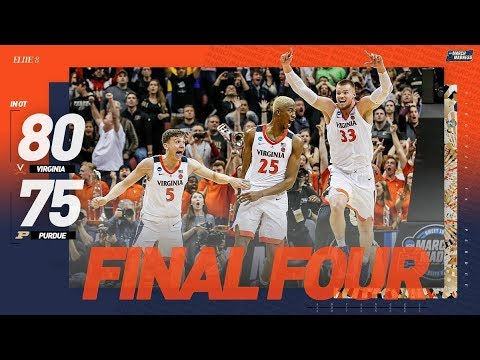 Virginia vs. Purdue: Elite 8 NCAA tournament highlights