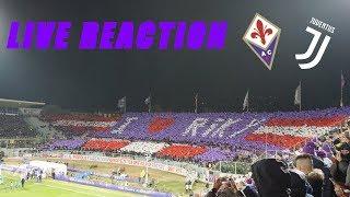 FIORENTINA-JUVENTUS  0-3   REACTION DALLO STADIO!