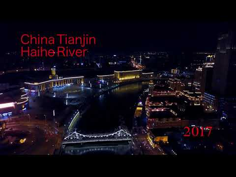2017 China Tianjin Haihe River Sunset 0205 4K