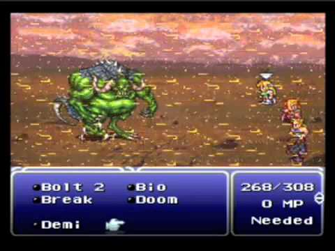 Let's Play Final Fantasy VI, Part 32-Fight For the Future!