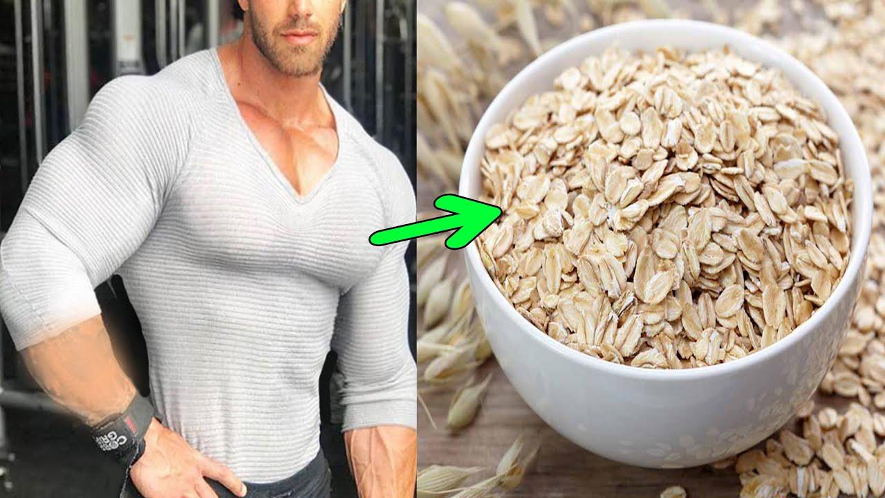 حفنة شوفان واحدة ستجعلك مميز بين كل الرجال ستقوي العضلات النائمة لديك وتجعلها ضخمة وكبيرة بسرعة فائق