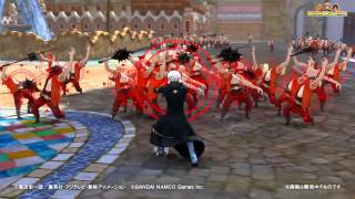 One Piece: Pirate Warriors 3 - Fujitora, Flamingo, Law & Luffy Gameplay