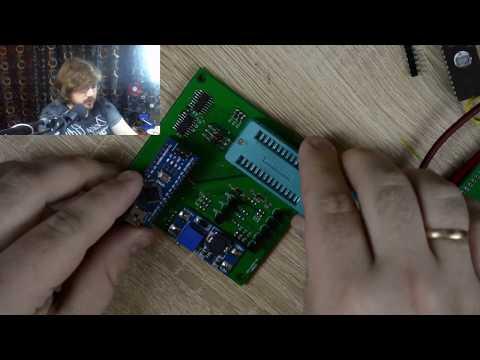 Программатор EPROM на Arduino