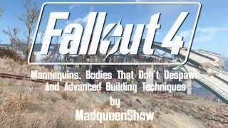 Fallout 4 settlement tutorial - Mannequins, dead bodies and advanced building techniques