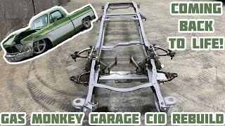 Rebuilding Gas Monkey Garage Wrecked 1976 Chevy C10 Part 6