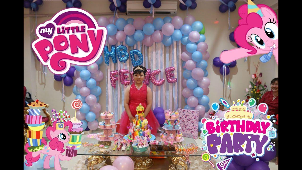 my little pony birthday party  bahasa indonesia