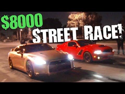 Domestic vs Import - The $8,000 STREET RACE