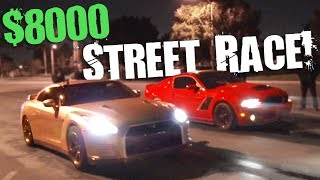 Domestic vs Import - The $8,000 STREET RACE