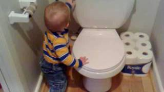 First steps to toilet training...?