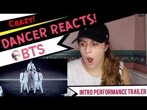 BTS(방탄소년단) 가요대제전 Intro performance Trailer - DANCER REACTS!