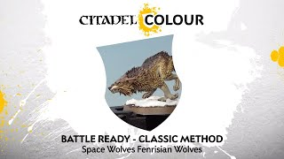 How to Paint: Space Wolves Fenrisian Wolves – Classic Method