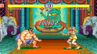 Street Fighter II (Arcade) - E.Honda (Level 7) 1CC