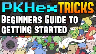 PKHex Beginners Guide for Setup - PKHex Tricks
