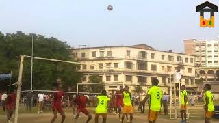 ►Teenager Volleyball Match II Fantastic Game Show in The Field