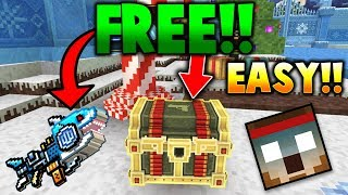 Pixel Gun 3D   How To Get The Spark Shark, Golden Friend & ALL Exoskeletons By Using This Cheat!
