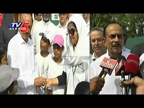 Great Response For Tennis Camp By Sports Village   Jubilee Hills Club   TV5 News