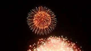 トッポジージョ、盛夏、一万発、水郷祭、花火大会、松江市、 宍道湖、島根県、西日本、日本、実際はもっと凄いぞ、
