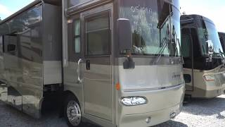 2005 Winnebago Journey 39F Class A Diesel, 35K Miles, 3 Slides, 350 Cat, Warranty, $69,900